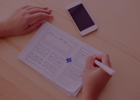 Udarbejdelse af struktur til hjemmeside